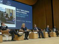 Как «освещали» конгресс новостных агентств в Баку