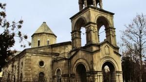 Армянская церковь в центре Баку - ФОТО